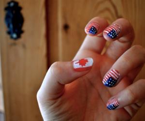 canada, nailpolish, and nails image
