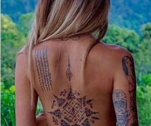 Tattoos and sak yant image