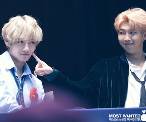 bts, namjoon, and taehyung image