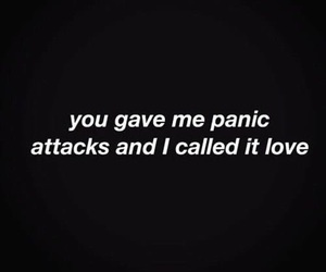 love, quotes, and attack image