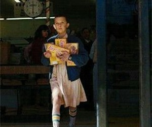 11 and stranger things image
