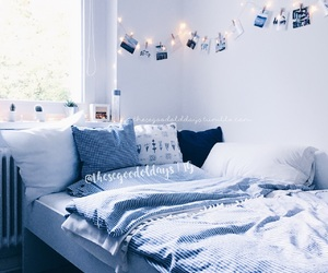 bedroom, room, and room decor image