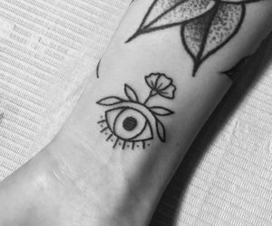 eye and Tattoos image