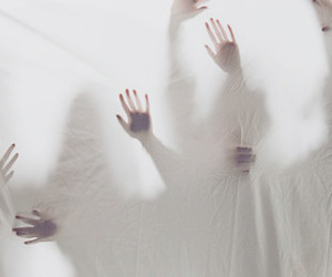 hands, aesthetic, and ghost image