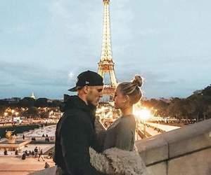 paris, love, and couplegoals image