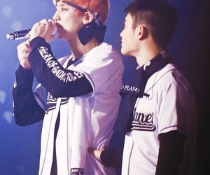 do, exo, and chansoo image