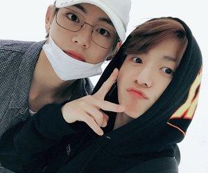 jin, rap monster, and jungkook image