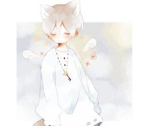 anime, art, and neko image