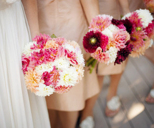 wedding, flowers, and pretty image