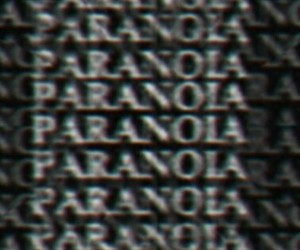 black, paranoia, and wallpaper image