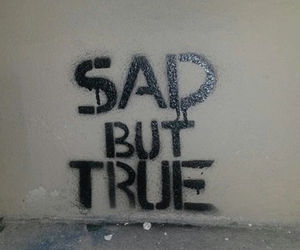 sad, true, and quotes image