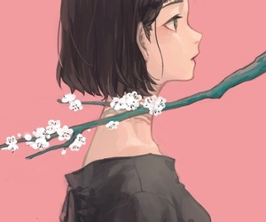anime, sakura, and anime girl image