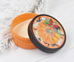 body butter, pumpkin, and vanilla image