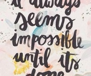 quotes, motivation, and impossible image