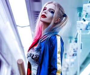 harley quinn, cosplay, and suicide squad image