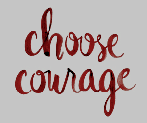 courage, quotes, and red image