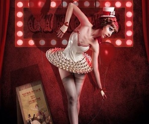 candy girl, carnival, and circo image