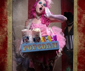candy, circo, and candy girl image