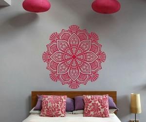 decoration, mandala, and room image