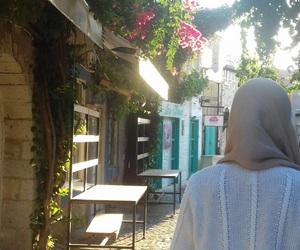 blogger, hijab, and summer image
