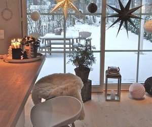 winter, home, and christmas image