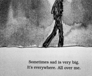 sad, quotes, and sadness image