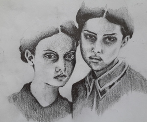 art, sketch, and draw image