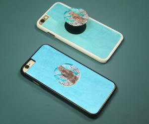 blue, lightblue, and popsockets image