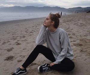 beach, girl, and alternative image