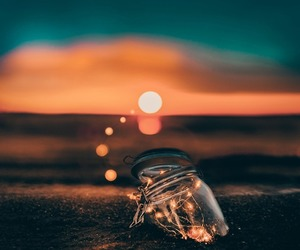 adventure, lights, and ocean image