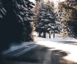 winter and love image