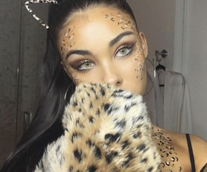 madison beer, Halloween, and makeup image