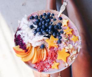 food, fruit, and acai bowl image