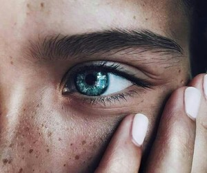 eyes, blue, and photography image