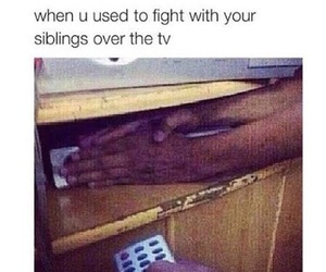 funny, siblings, and true image