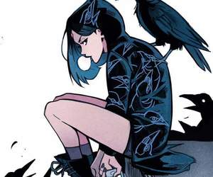 raven, art, and teen titans image