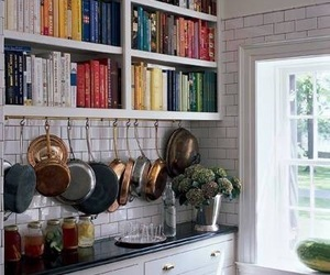 books, cooking, and daylight image