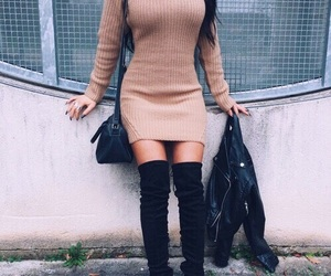 sweater dress image
