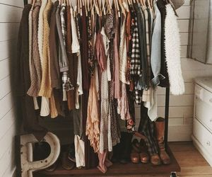 closet, shoes, and clothing image