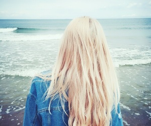 beach, hairstyle, and inspiration image
