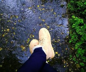 autumn, shoes, and white image