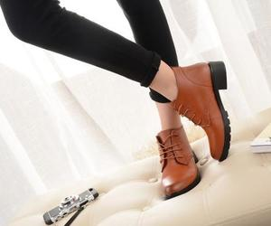 autumn, shoes, and winter collection image