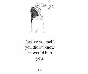 quotes, forgive, and hurt image