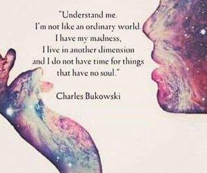 Bukowski, madness, and not ordinary image