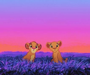 disney, wallpaper, and simba image