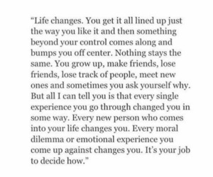 change, come, and decide image