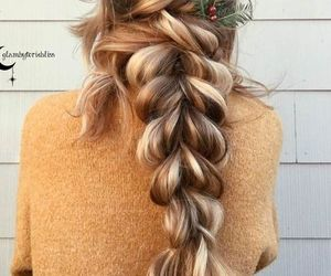 hair, fashion, and braids image