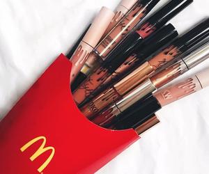 makeup, fashion, and lipstick image