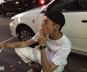 boy, aesthetic, and tattoo image