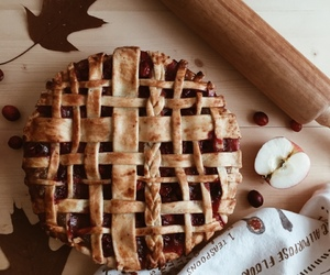 fall, pie, and autumn image